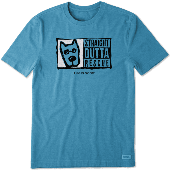 Men's Straight Outta Rescue Crusher Tee