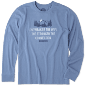 Men's Strong Connection Long Sleeve Crusher Tee