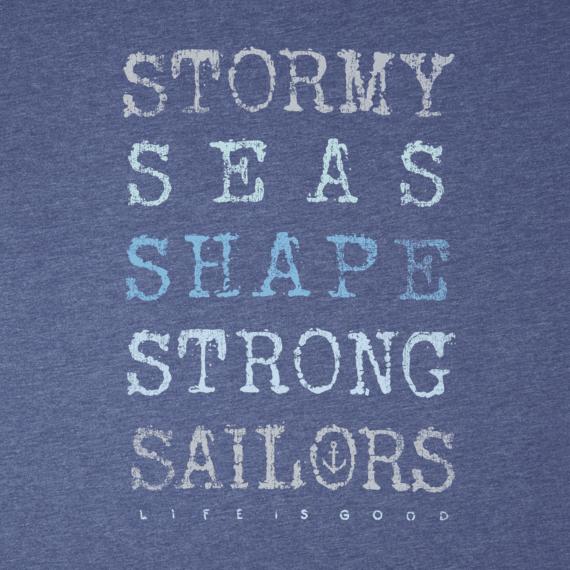 Men's Strong Sailors Long Sleeve Cool Tee