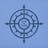 Men's Sun Compass Crusher Tee