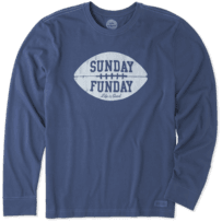 Men's Sunday Funday Long Sleeve Crusher Tee