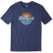 Men's Sunny Waves Smooth Tee