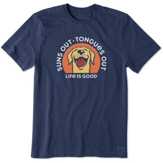 Men's Suns Out Tongues Out Crusher Tee