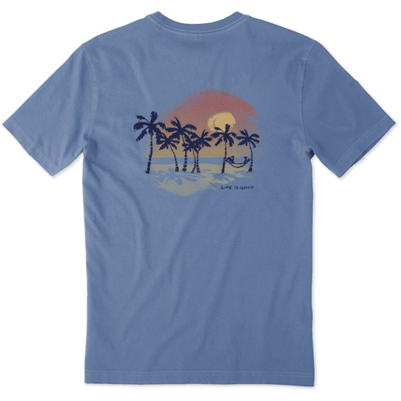 Men's Sunset Palms Crusher Tee