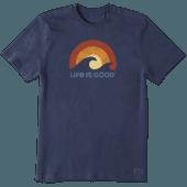 Men's Sunshine Waves Crusher Tee