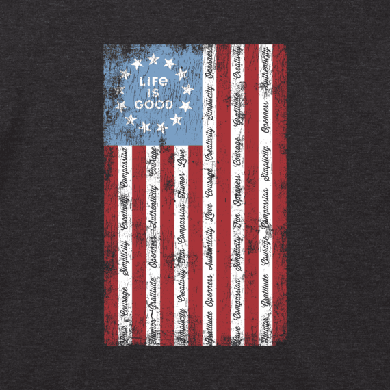 Men's Superpower Flag Cool Tee