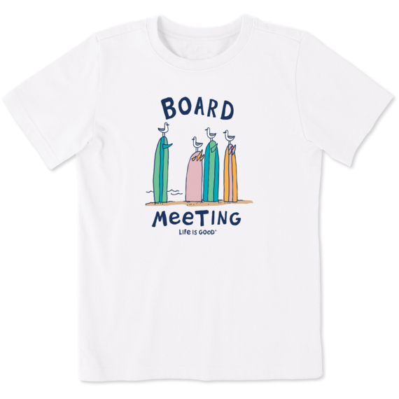 Men's Surf Board Meeting Crusher-LITE Tee