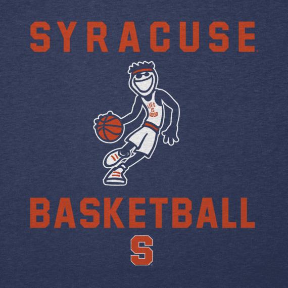 Men's Syracuse Orangemen Athlete Jake Long Sleeve Cool Tee
