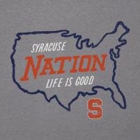Men's Syracuse Orangemen Nation Outline Cool Tee