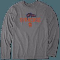 Men's Syracuse Pennant Long Sleeve Cool Tee