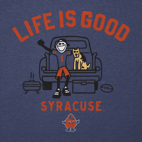 Men's Syracuse Tailgate Jake Cool Tee