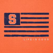Men's Syracuse Team Flag Cool Tee