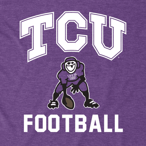 Men's TCU Horned Frogs Football Jake Cool Tee