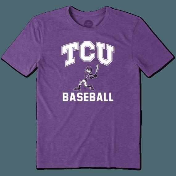 Men's TCU Horned Frogs Baseball Jake Cool Tee