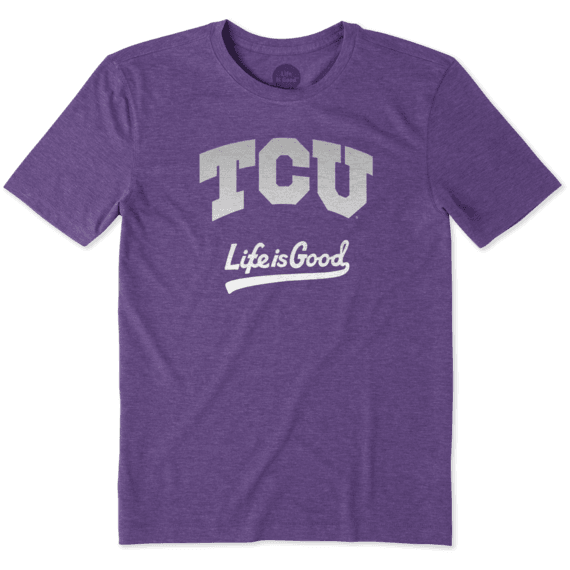Men's TCU Horned Frogs Gradient Tailwhip Cool Tee
