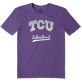 Men's TCU Horned Frogs Gradient Tailwhip Cool Tee