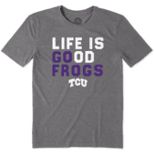 Men's TCU Horned Frogs LIG Go Team Cool Tee