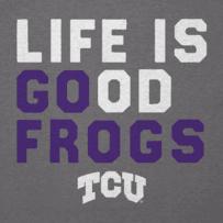 Men's TCU Horned Frogs LIG Go Team Cool Tee