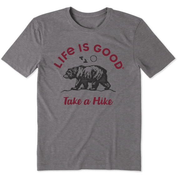 Men's Take A Hike Bear Cool Tee