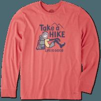 Men's Take A Hike Long Sleeve Crusher Tee