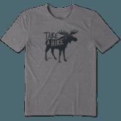 Men's Take A Hike Moose Cool Tee