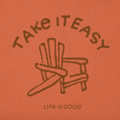 Men's Take It Easy Adirondack Crusher Tee