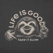 Men's Take It Slow Sloth Crusher Tee