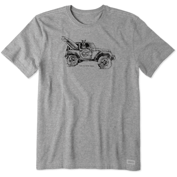 Men's Take Me ATV Crusher Tee