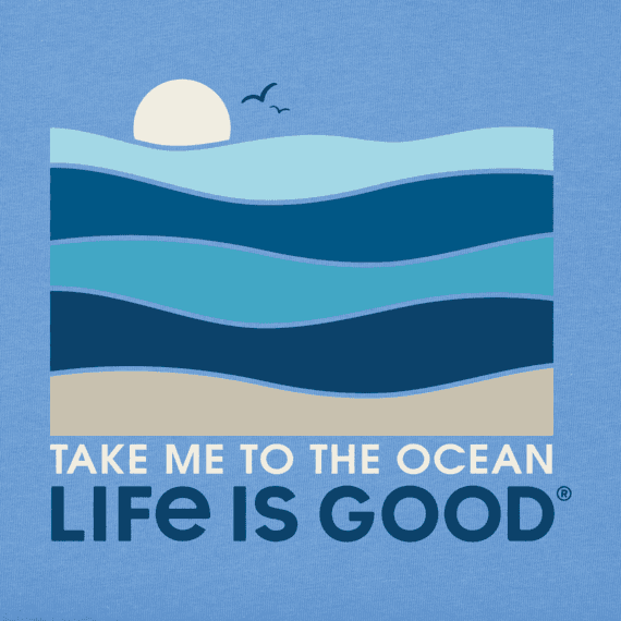 Men's Take Me To The Ocean Crusher Tee