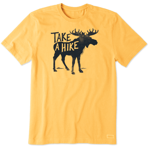 Men's Take a Hike Moose Crusher Tee