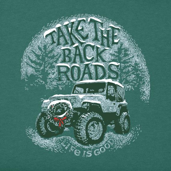 Men's Take the Back Roads Long Sleeve Crusher Tee