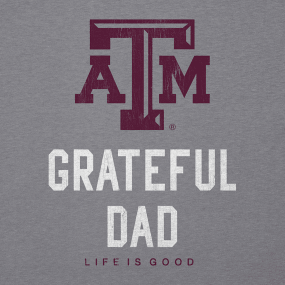 Men's Texas A&M Grateful Dad Cool Tee