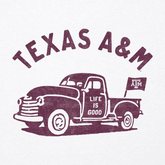 Men's Texas A&M Vintage Truck Cool Tee