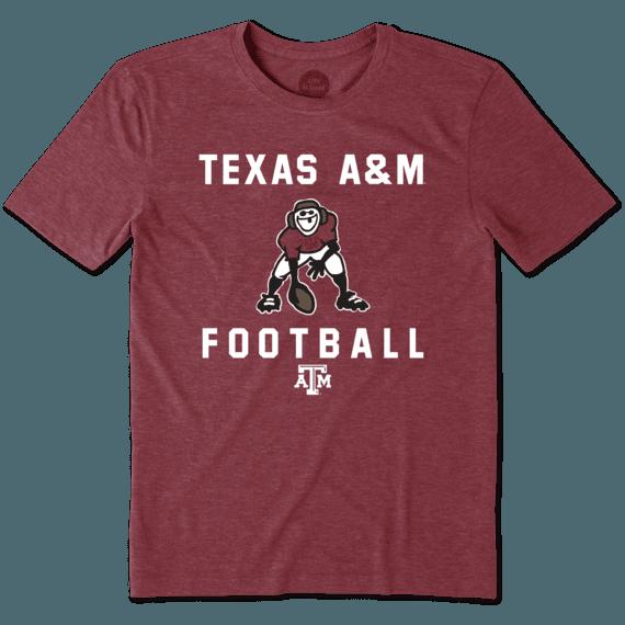 Men's Texas A&M Aggies Football Jake Cool Tee