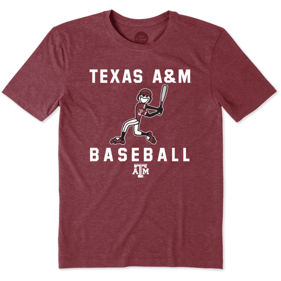 Men's Texas A&M Aggies Baseball Jake Cool Tee