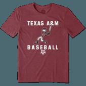 Men's Texas A&M Aggies Baseball Jake Cool Tee