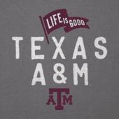 Men's Texas A&M Aggies Pennant Long Sleeve Cool Tee