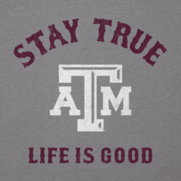 Men's Texas A&M Aggies Stay True Long Sleeve Cool Tee