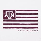 Men's Texas A&M Aggies Team Flag Cool Tee