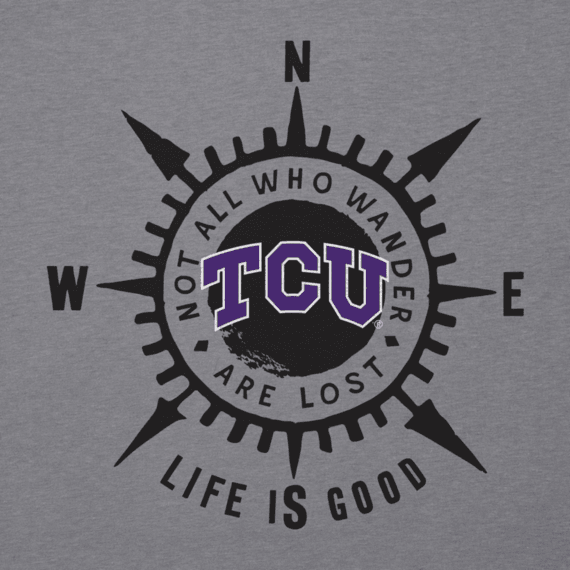 Men's Texas Christian Compass Cool Tee