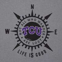 Men's Texas Christian Compass Cool Tee