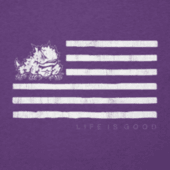Men's Texas Christian Flag Cool Tee