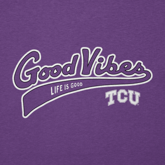 Men's Texas Christian Horned Frogs Good Vibes Tailwhip Cool Tee