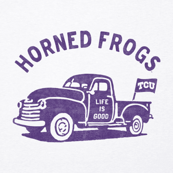 Men's Texas Christian Vintage Truck Cool Tee