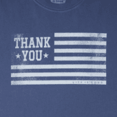 Men's Thank You Veterans Crusher Tee