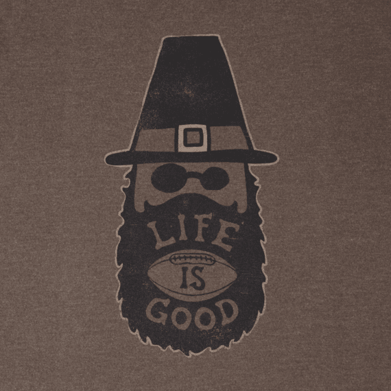 Men's Thankful Beard Crusher Tee
