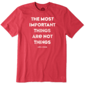Men's The Most Important Things Crusher Tee