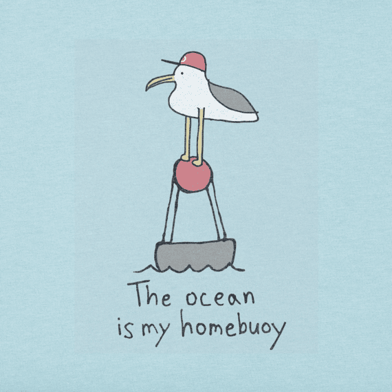 Men's The Ocean Is My Homebuoy Crusher Tee
