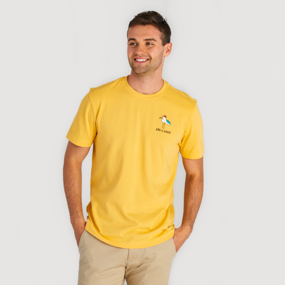 Men's The Ocean Is My Homebuoy Crusher Tee