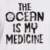 Men's The Ocean Is My Medicine Freestyle Wash Tank